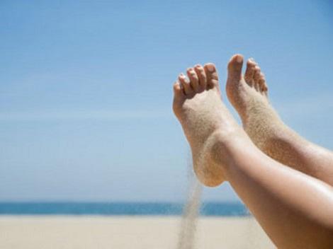 Consejos cuidados proteger del sol los pies de los niños Querolets 2 3