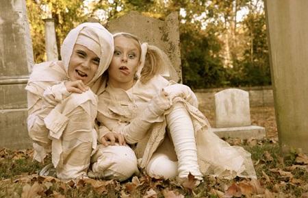 Disfraces fáciles DIY para niños en Halloween Querolets 2