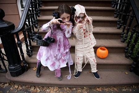 Disfraces fáciles DIY para niños en Halloween Querolets 3