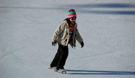 Patinar sobre hielo con niños blog Querolets 10