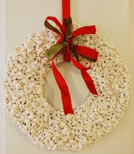 Hacer coronas navideñas DIY con niños blog Querolets 10