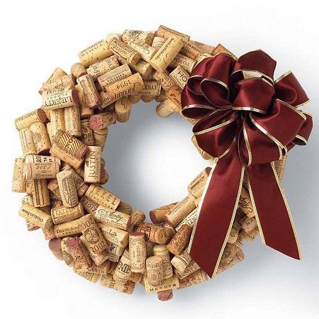 Hacer coronas navideñas DIY con niños blog Querolets 11