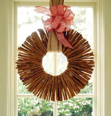 Hacer coronas navideñas DIY con niños blog Querolets 2