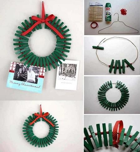 Hacer coronas navideñas DIY con niños blog Querolets 7