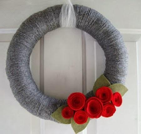 Hacer coronas navideñas DIY con niños blog Querolets 8