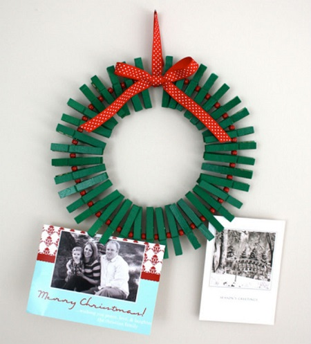 Hacer coronas navideñas DIY con niños blog Querolets 9