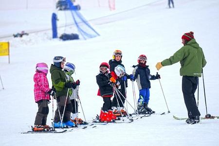 Esquiar con niños blog Querolets 7