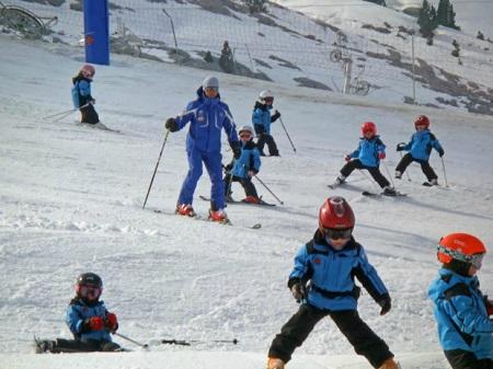 Esquiar con niños blog Querolets 8