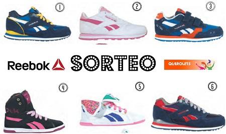 Sorteo zapatillas Reebok Blog Querolets