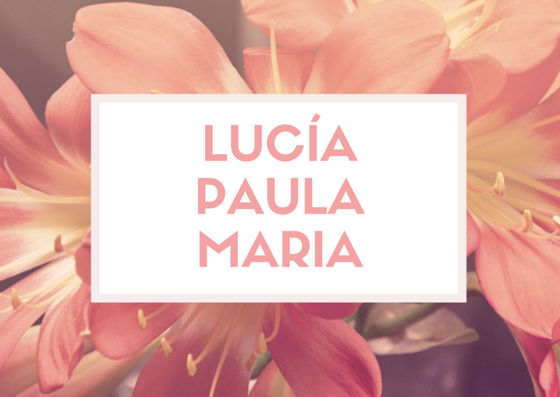 Estos son los tres nombres más populares de 2014 en España.
