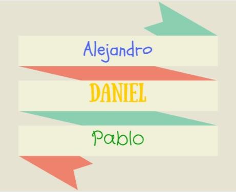Estos son los tres nombres de niñosmás populares en España en 2014.