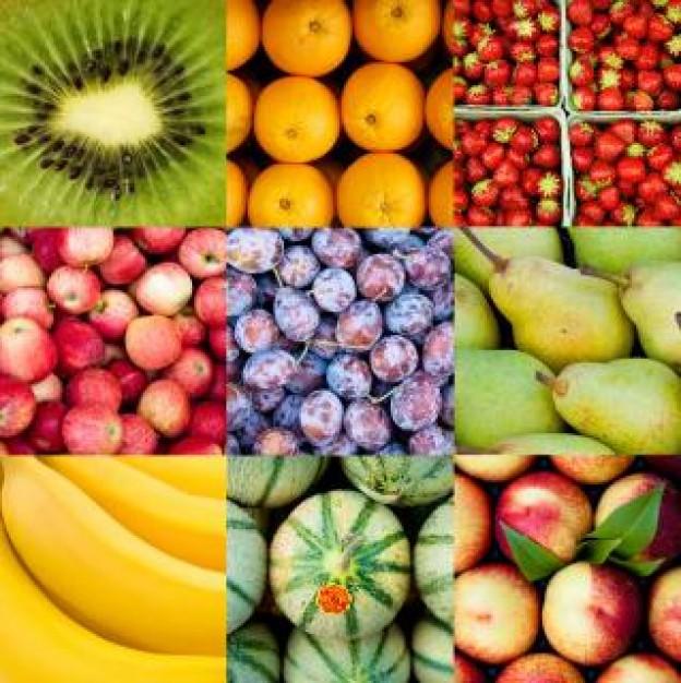 fotos de distintas frutas