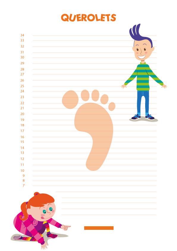 como saber la talla de zapatos de mi hijo / METRO tallas pies