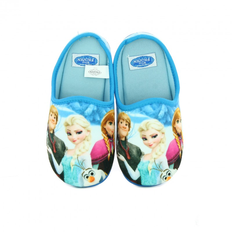 zapatillas casa frozen disney - querolets