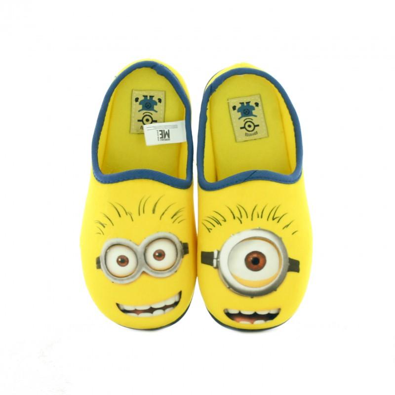 zapatillas casa minions - querolets