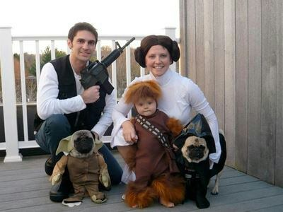 disfraces familias con mascotas