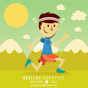 estilo de vida saludable niños
