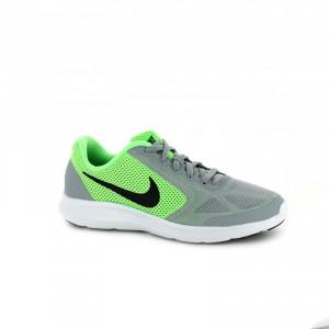 zapatillas nike verde fluor niños - querolets