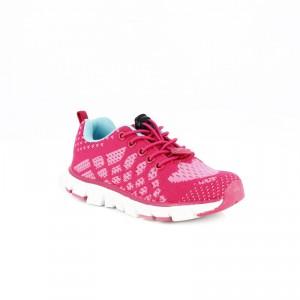 zapatillas niña quets! rosas con suela flexible - querolets