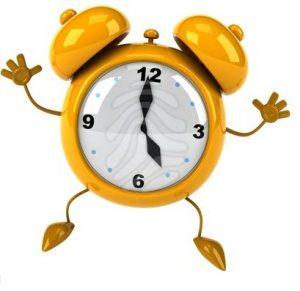prepararse para las rebajas: planifica un horario