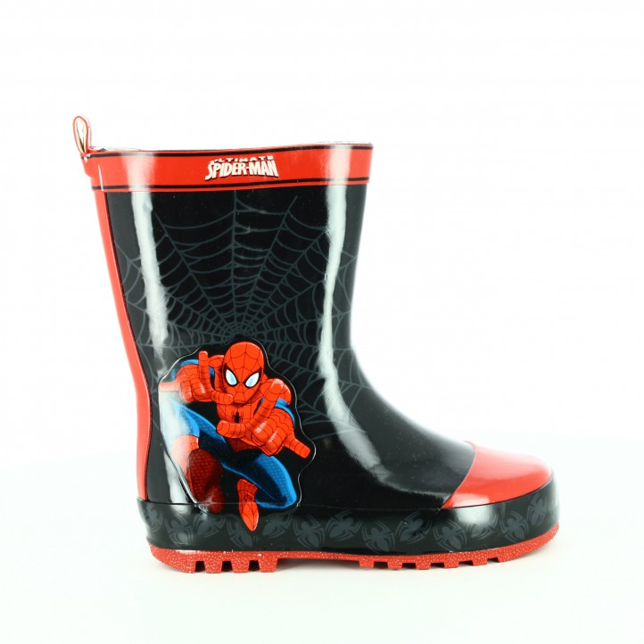 botas-agua-leomil-spiderman