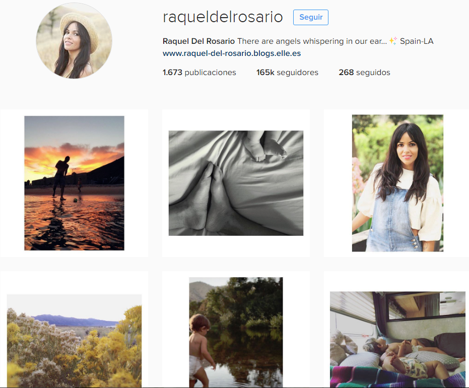 raquel del rosario / mamás famosas de instagram