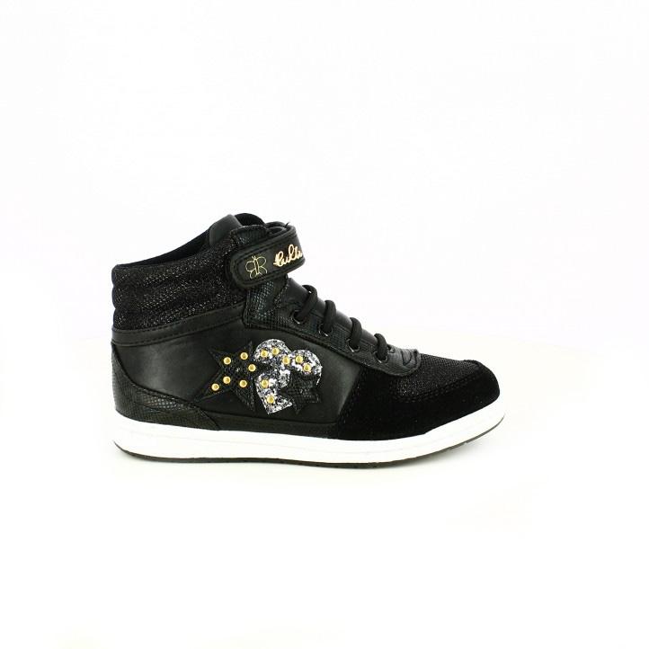 botines-lulu-negros-con-luces