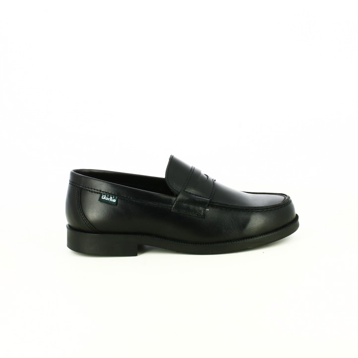 zapatos gorila mocasines negros
