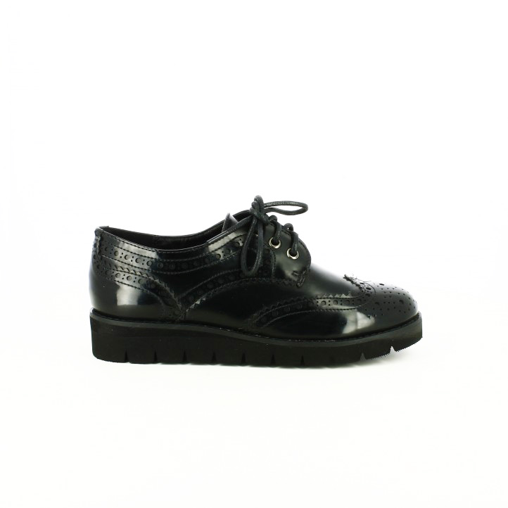 zapatos low cost xti oxford negros