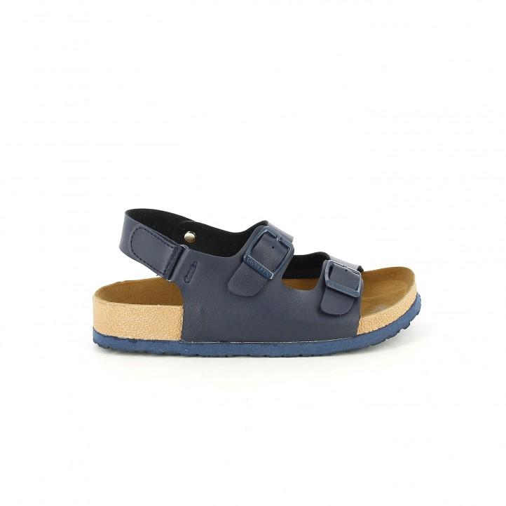 colección de zapatos de primavera / sandalias gioseppo bios azules