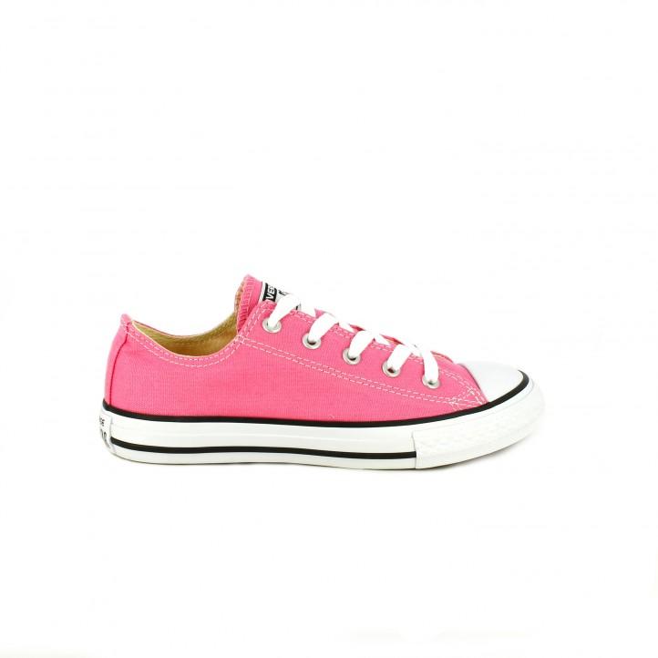 colección de zapatos de primavera / zapatillas lona converse rosas