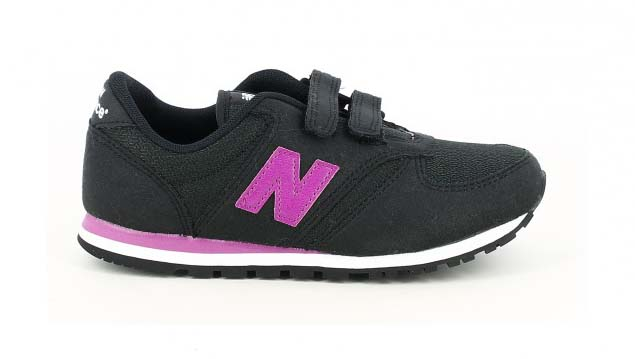 zapatillas deporte new balance 420 negras y lilas