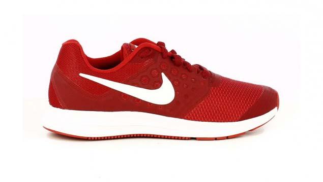 zapatillas deporte nike downshifter 7 rojas con cordones