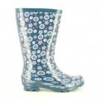 botas-agua-gioseppo-azules-con-flores
