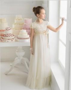 vestido de comunión vintage