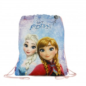 mochila cuerdas niña frozen disney - querolets