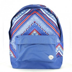 mochila roxy estampado tribal - querolets