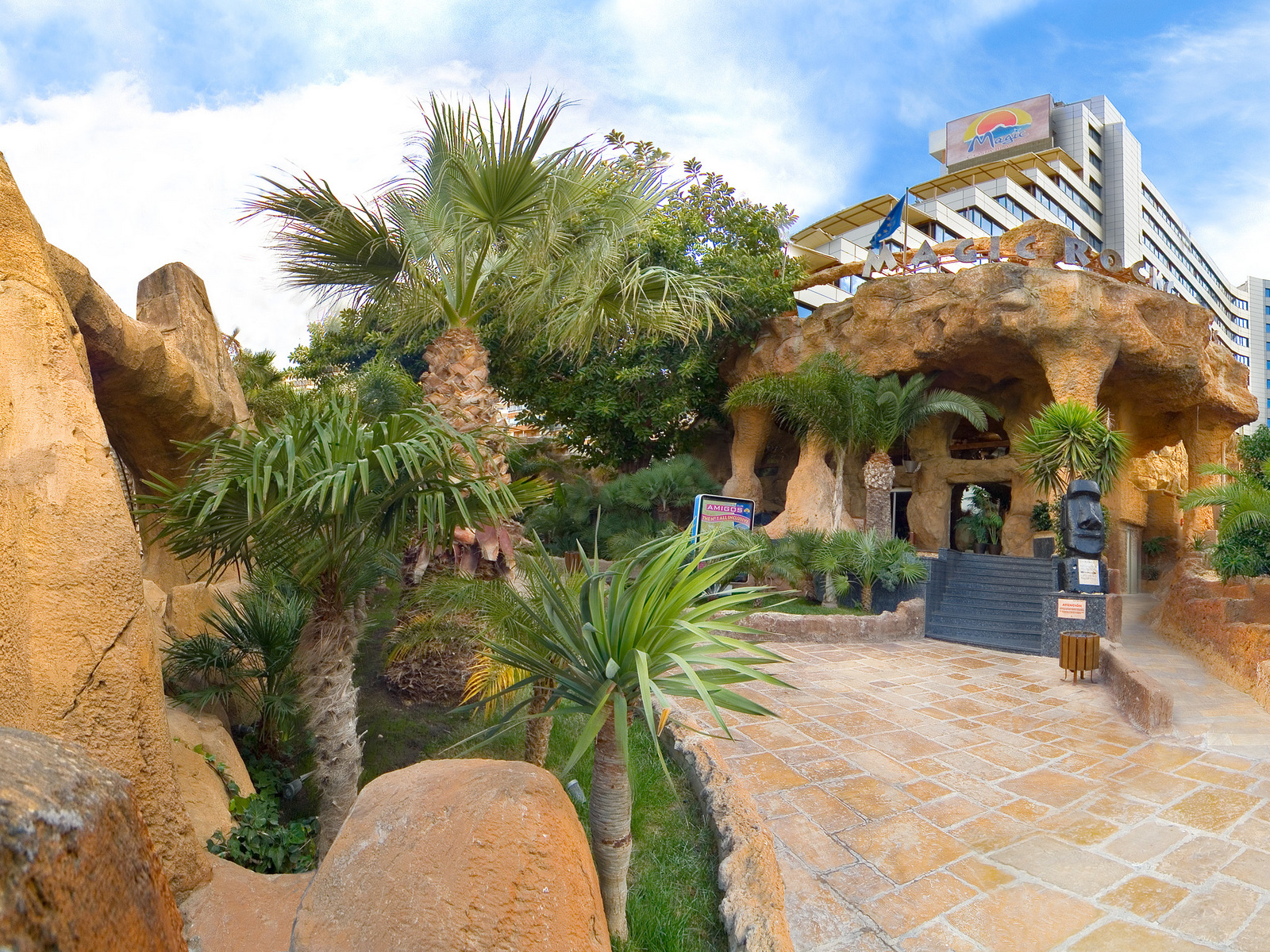 hotel magic rock gardens