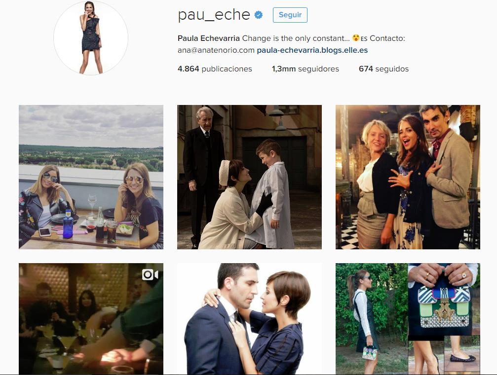 paula echevarría /mamás famosas en instagram