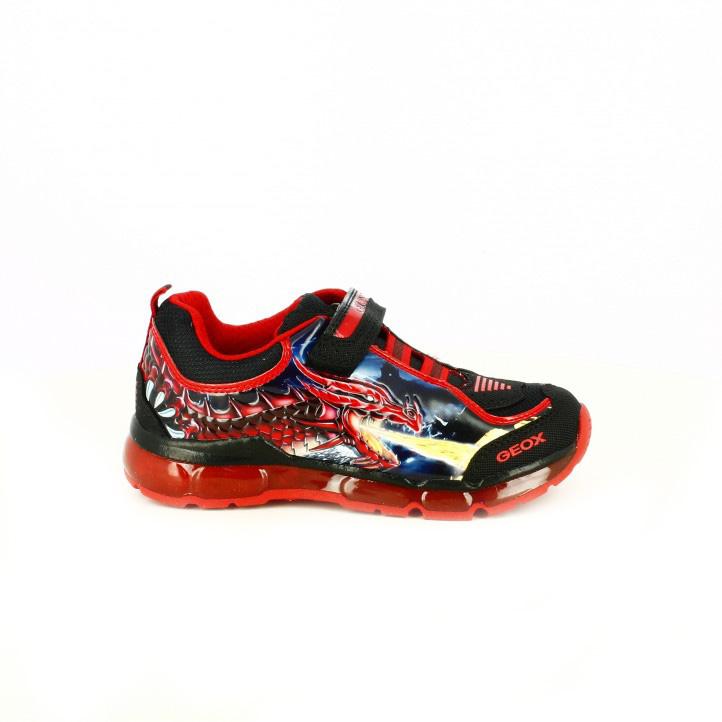zapatillas-deporte-geox-rojas-dragon-con-luces