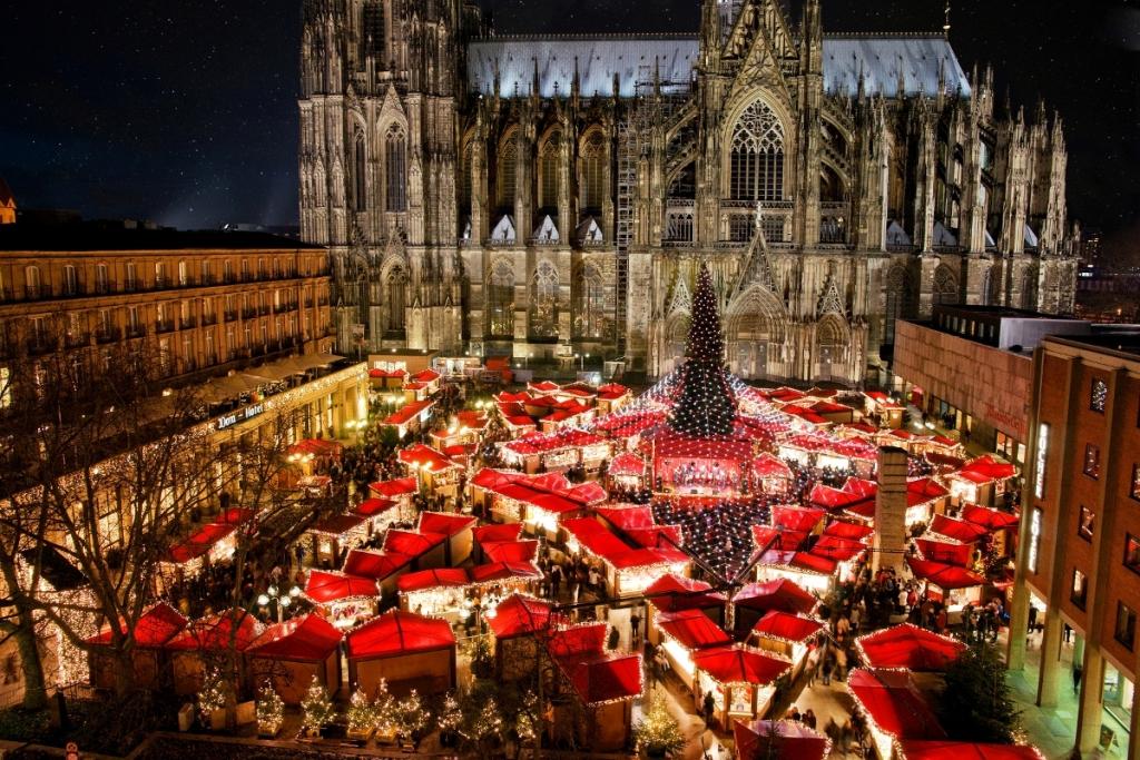tradiciones navideñas - Mercado de Navidad en Colonia