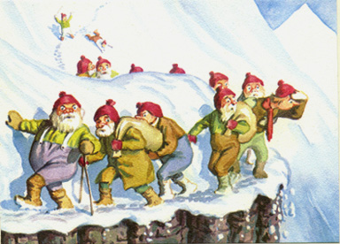 tradiciones navideñas - jolasveinar troles en islandia