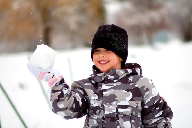 Guerra de bolas de nieve