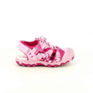 sandalias quets rosas cerradas