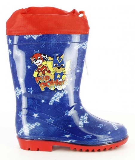 botas agua artesania cerda patrulla canina de superheroes