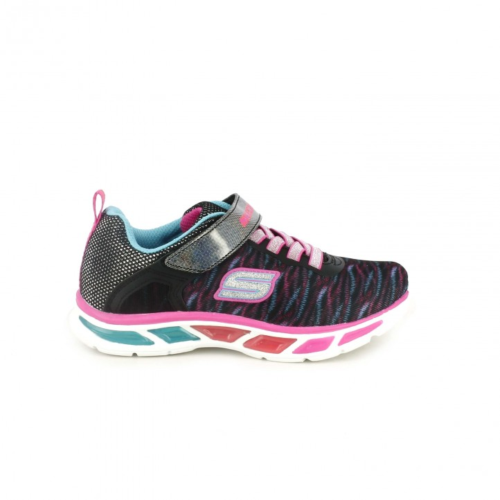 zapatillas deporte skechers estampadas con luces