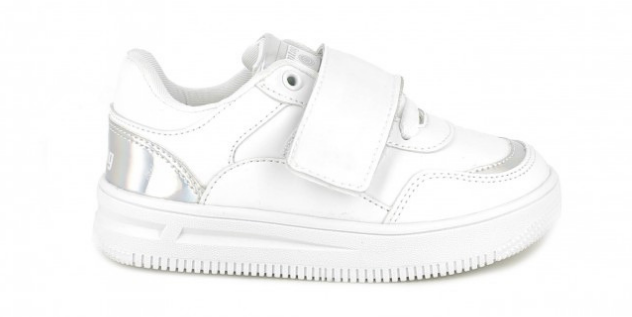 Zapatillas blancas con luces